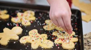 fêtes Noël cuisine appartement hiver Kangalou étudiants