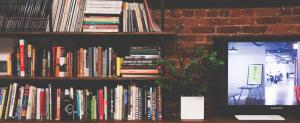 bibliothèque rangement salon appartement kangalou