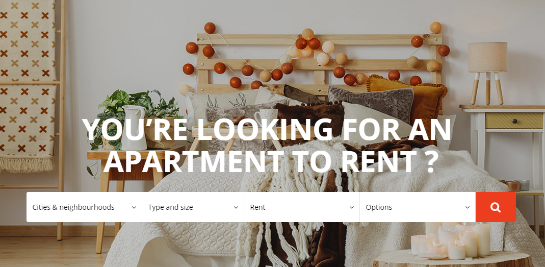 Find the perfect apartment on Kangalou